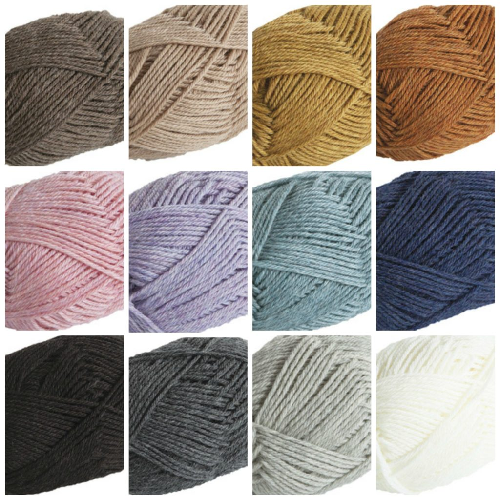 Yarn color palette
